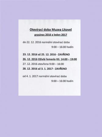 otevírací doba 2017   2